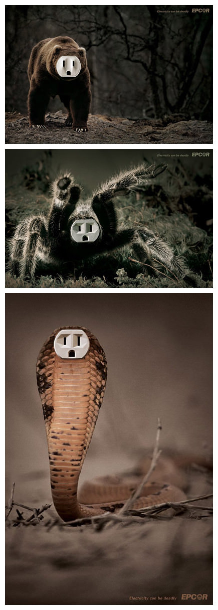 Electricity Can Be Deadly Art + Graphics