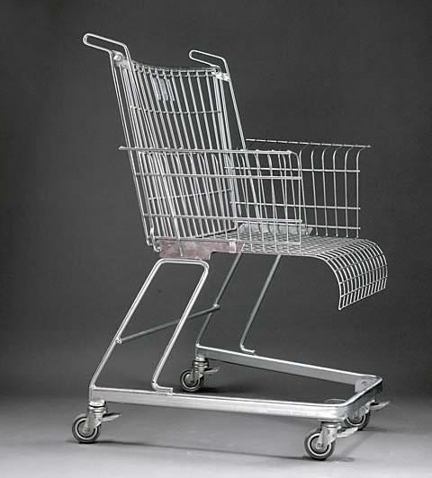 Frank Schreiner's Shopping Cart Chair Design
