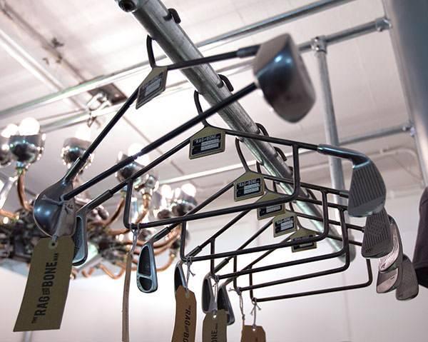 Rag and Bone Man Golf Club Hanger DIY + Crafts Sustainability
