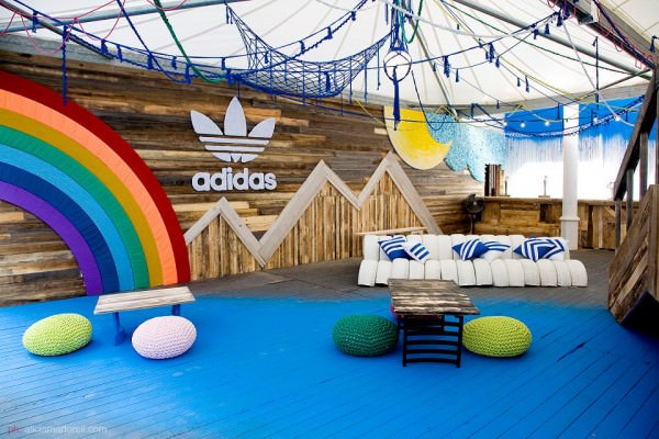 Adidas Pop-up Store Made of Repurposed Materials Sustainability