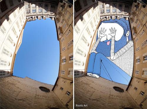 The Space between Art + Graphics