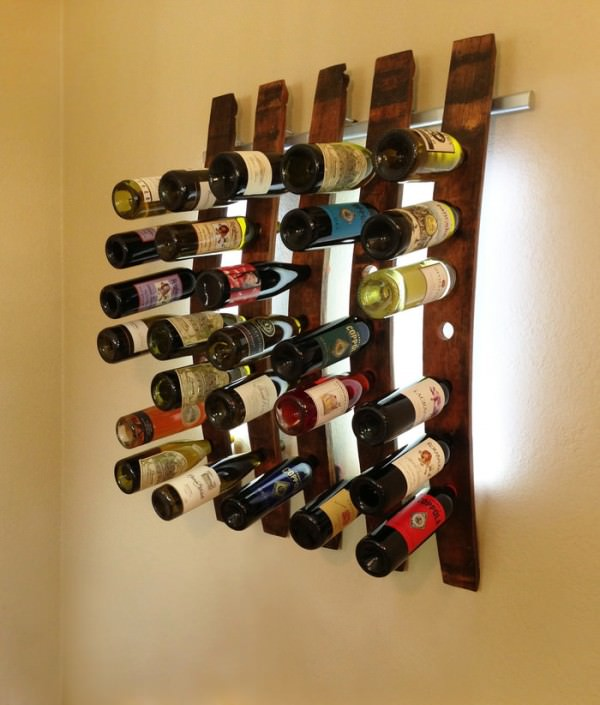 How To Transform Your Wine Collection Into An Illuminated Artwork Design
