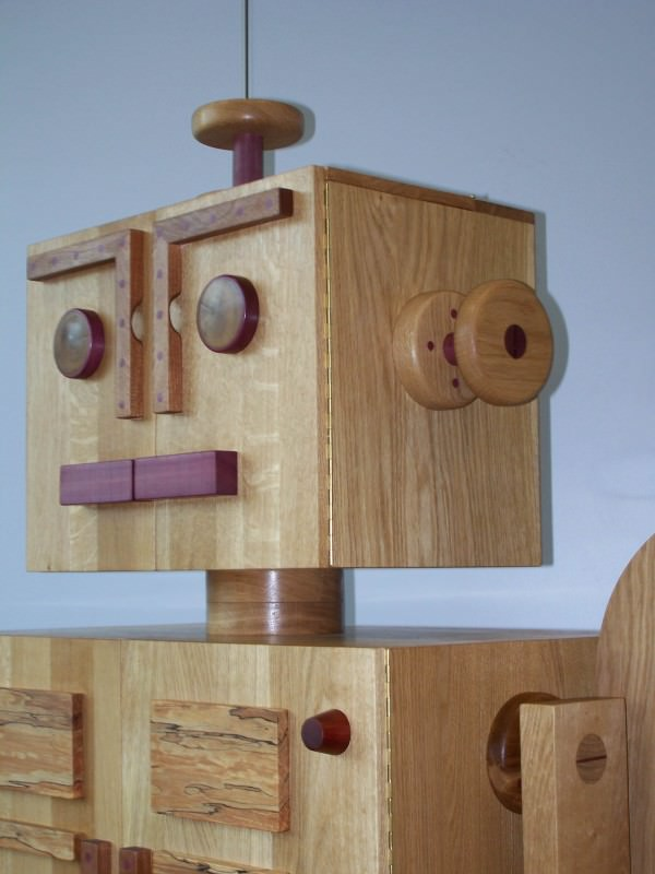 Woodbot Rtp2013 – Drinks Cabinet / Sideboard Art + Graphics