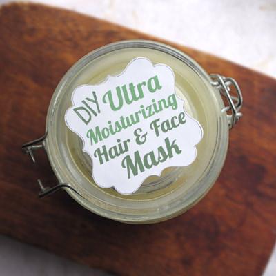 Diy Rich Moisturizing Hair + Face Mask DIY + Crafts