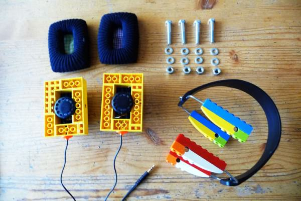 Diy: Lego Headphones DIY + Crafts