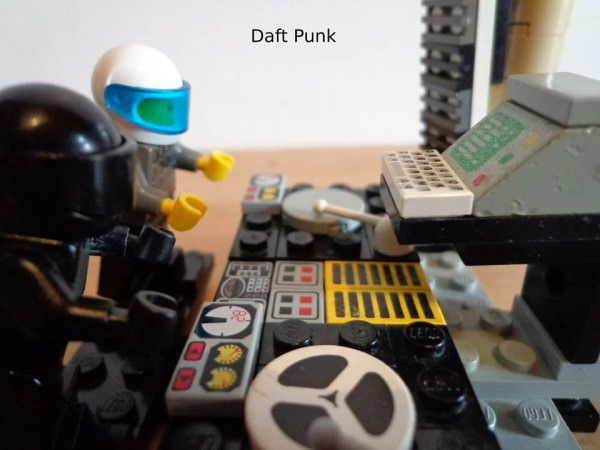 Lego Daft Punk Art + Graphics