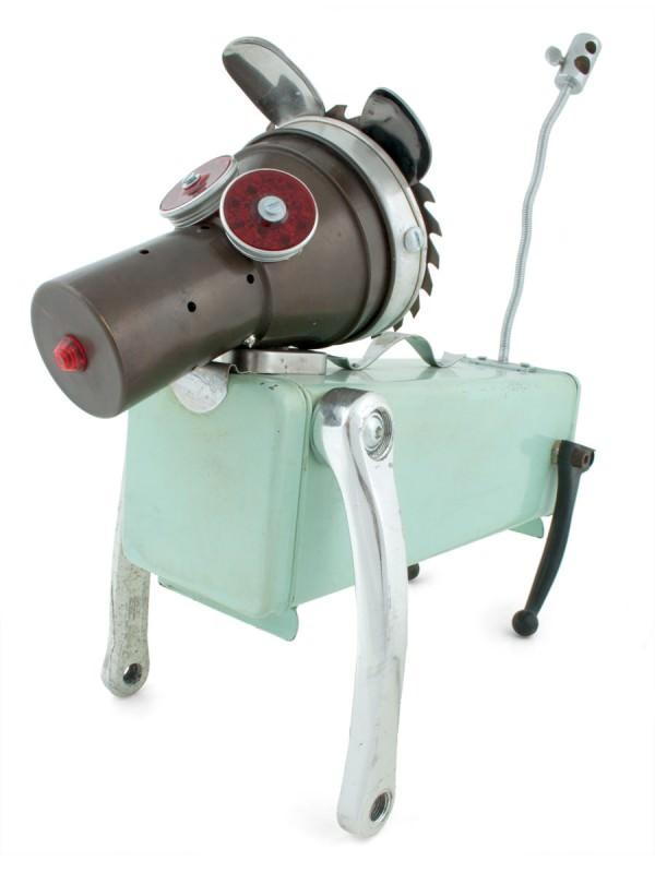 Alfabot, Recycled Robots Sustainability