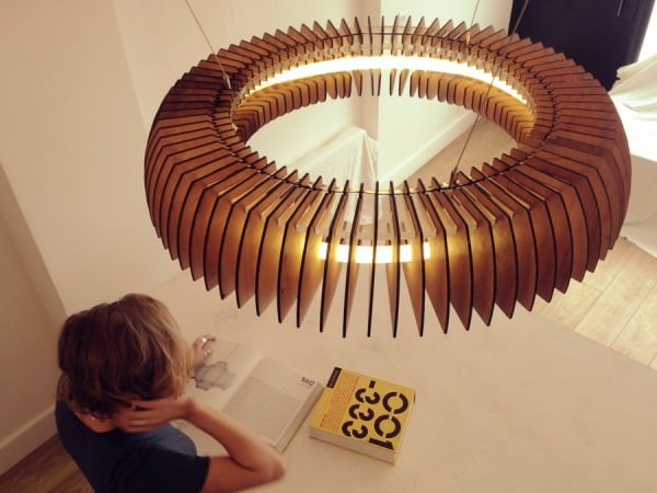 Sculptural Lighting With Dazzling Visual Effects by Cameron Design House Design