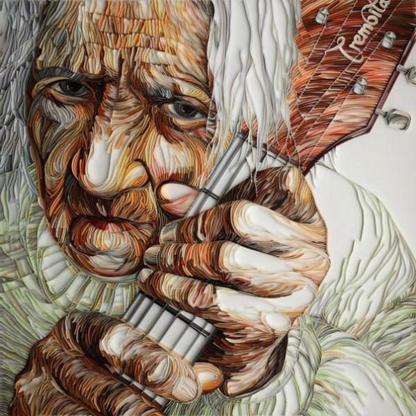 Photos Of Amazing Paper Portraits by Yulia Brodskaya Art + Graphics