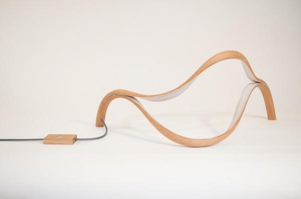 Sculptural Lamp Design