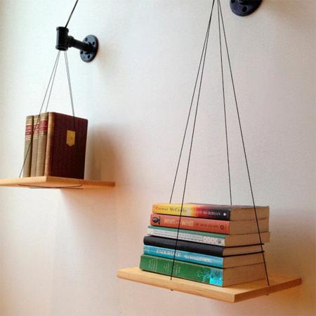 Balancing Bookshelf Architecture + Interiors