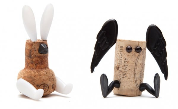 Diy: Cork Stopper Animals DIY + Crafts Funny