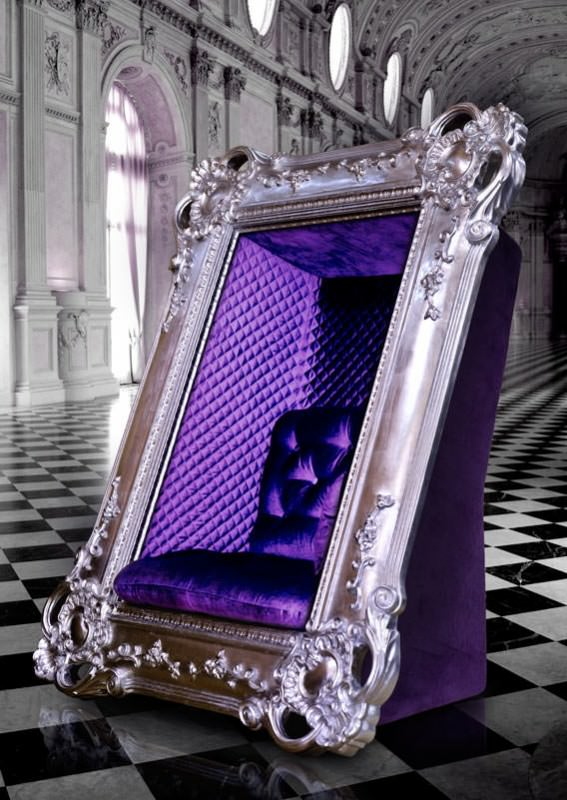Extravagant Frame Chair Designed for Memories Yet to Come Design