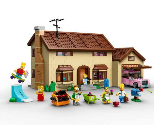 The Simpsons House in Lego Is Now Official Funny