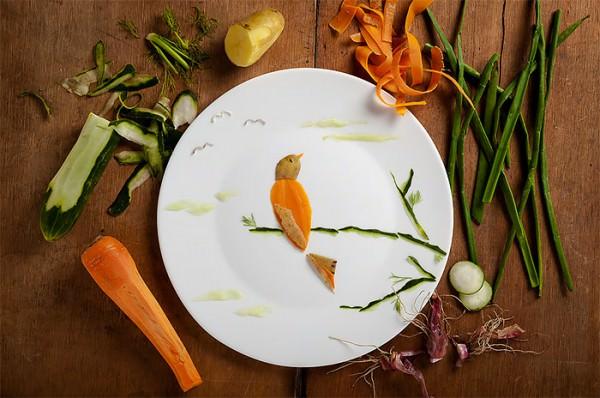Food Art by Anna Keville Joyce & Agustín Nieto Creative Fooding