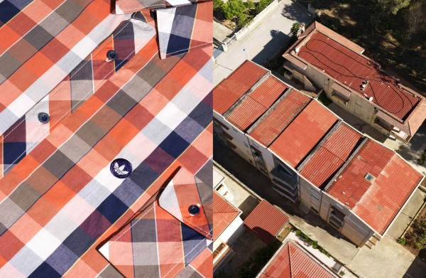 Aerial Photography Perfectly Matched With Clothing Photography