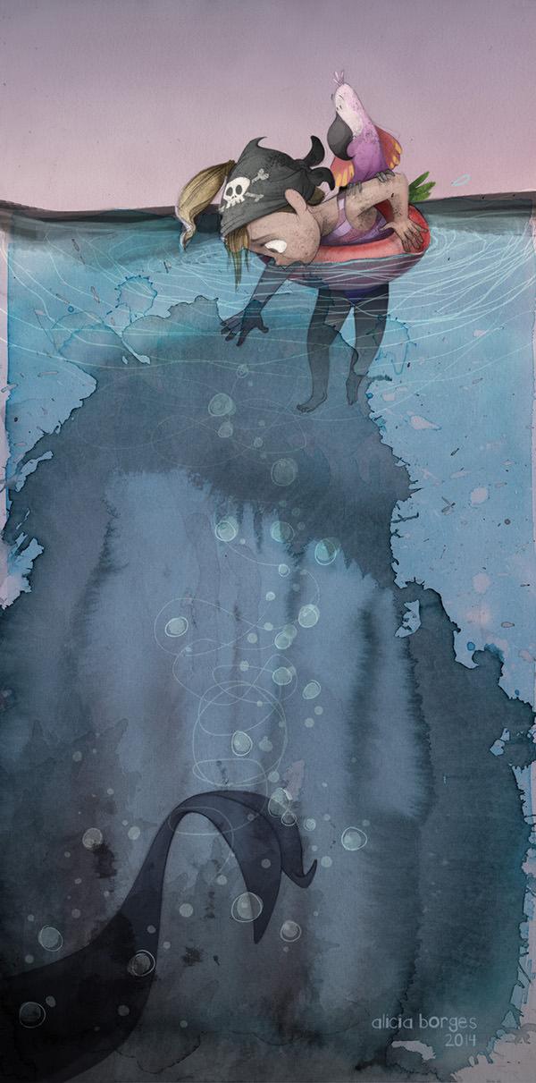 Yo Mimo Mi Mar Animals + Nature Art + Graphics