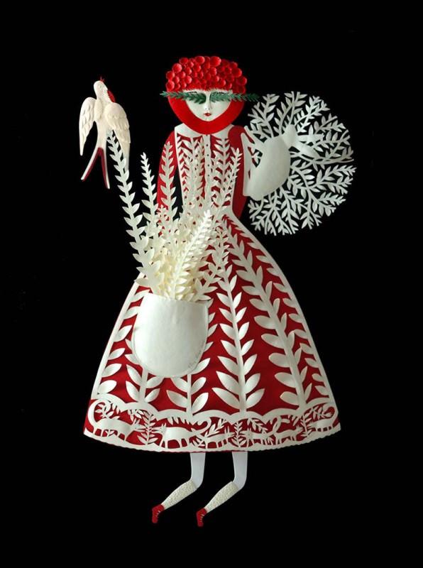 Paper Sculptures by Elsa Mora Art + Graphics