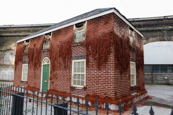 House of Wax by Alex Chinneck Architecture + Interiors