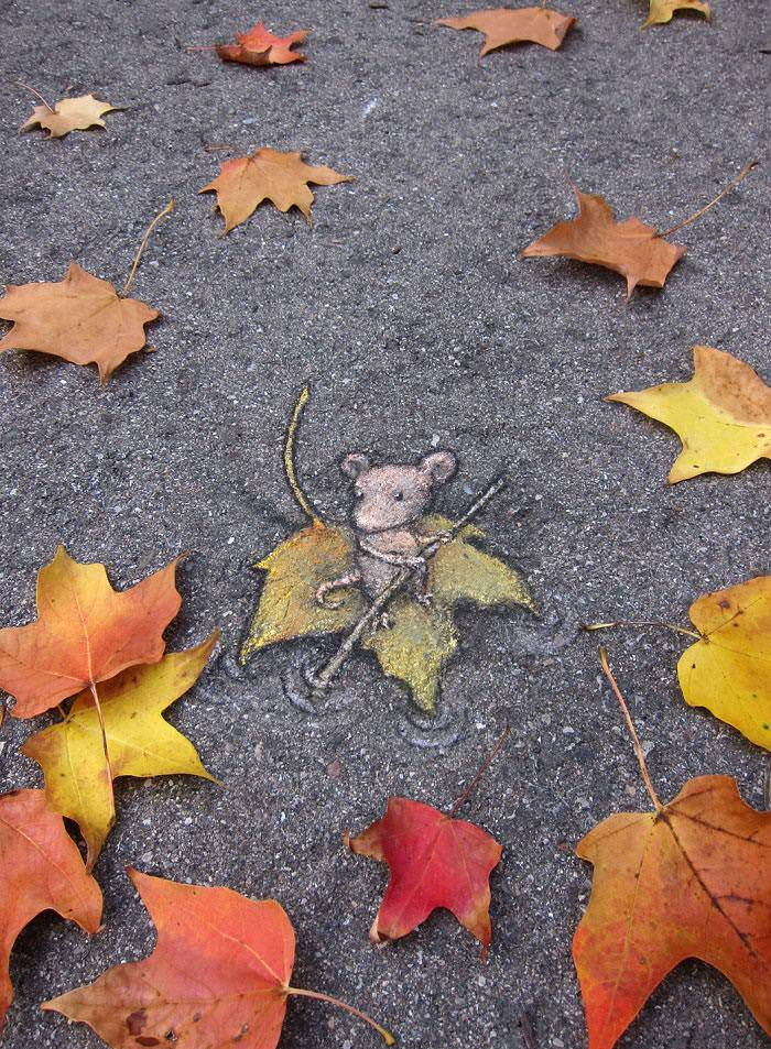 When Street Art Meets Urban Nature Animals + Nature Art + Graphics