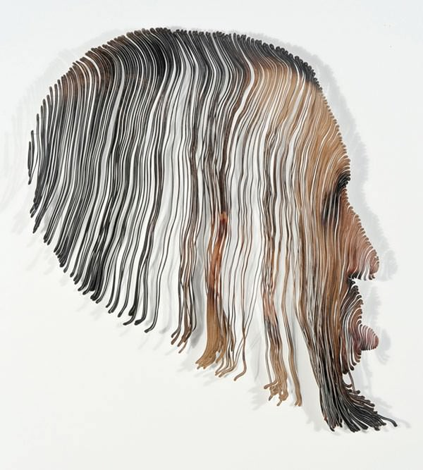 Paper Sculptures by Justine Khamara Art + Graphics