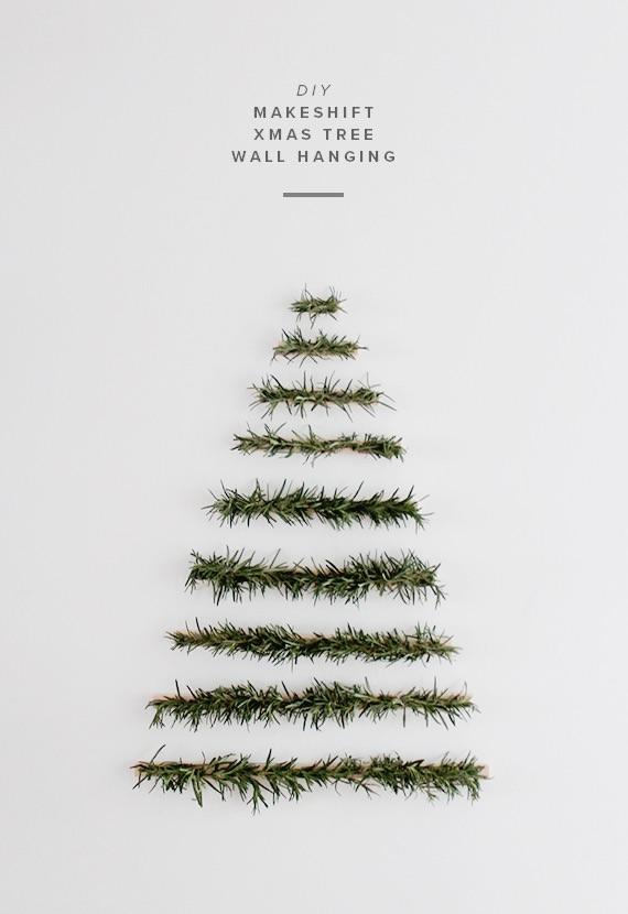 Diy: Minimalist Christmas Tree DIY + Crafts