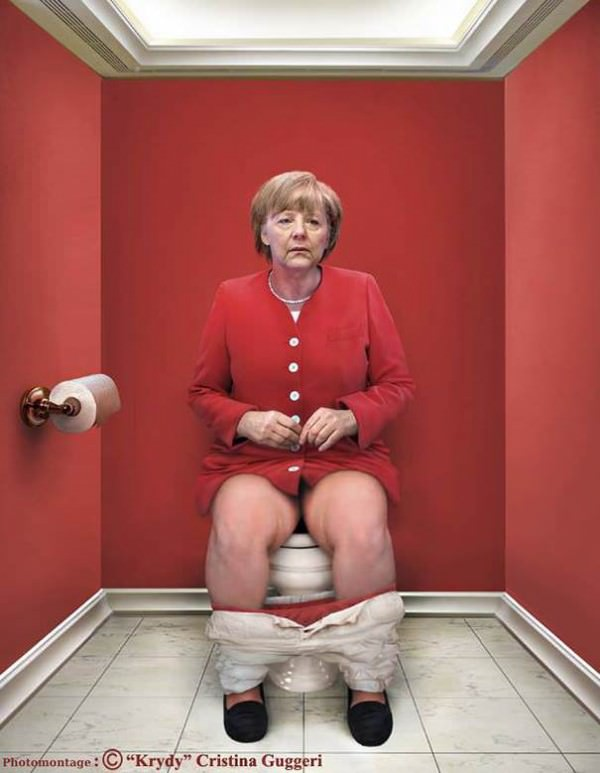 World Leaders Doing Their 'duty' by Photographer Cristina Guggeri Art + Graphics Photography