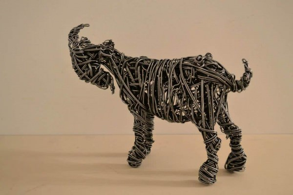 Wire Sculpture by Richard Stainthorp Art + Graphics