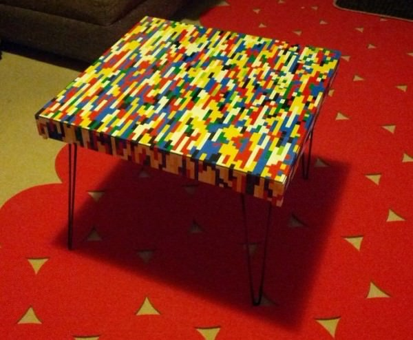 Lego Is Not Just Child's Play, You Can Make Coffee Tables With Them Design DIY + Crafts