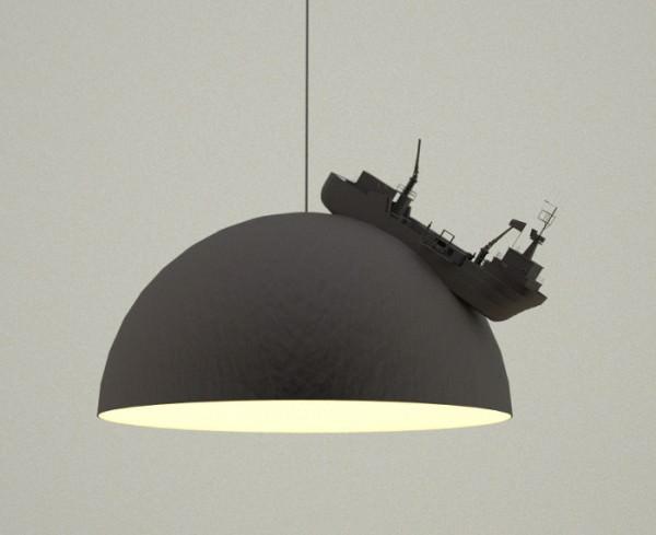 Land Lamps by Leonardo Fortino Design