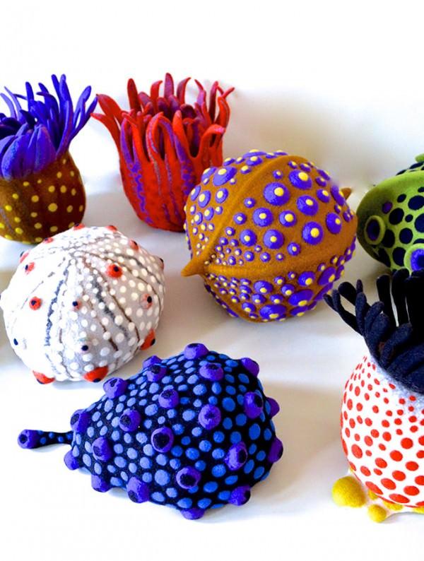 Amazing Felt Creations by Atsuko Sasaki Design Fashion + Trends
