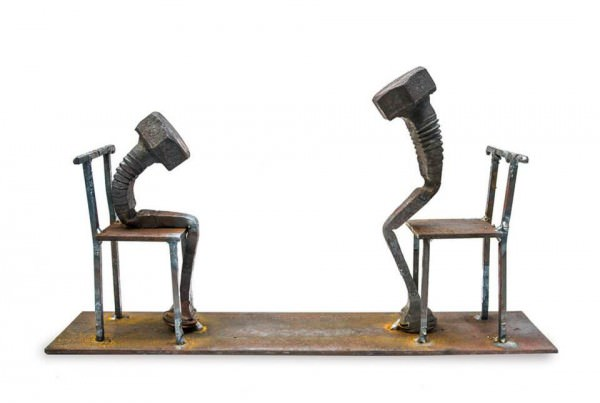 Poetic Bolt Sculptures By Tobbe Malm Art + Graphics