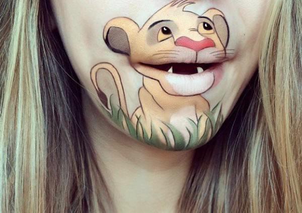 Amazing Cartoon Heroes Recreated on Laura Jenkinson Mouth Art + Graphics
