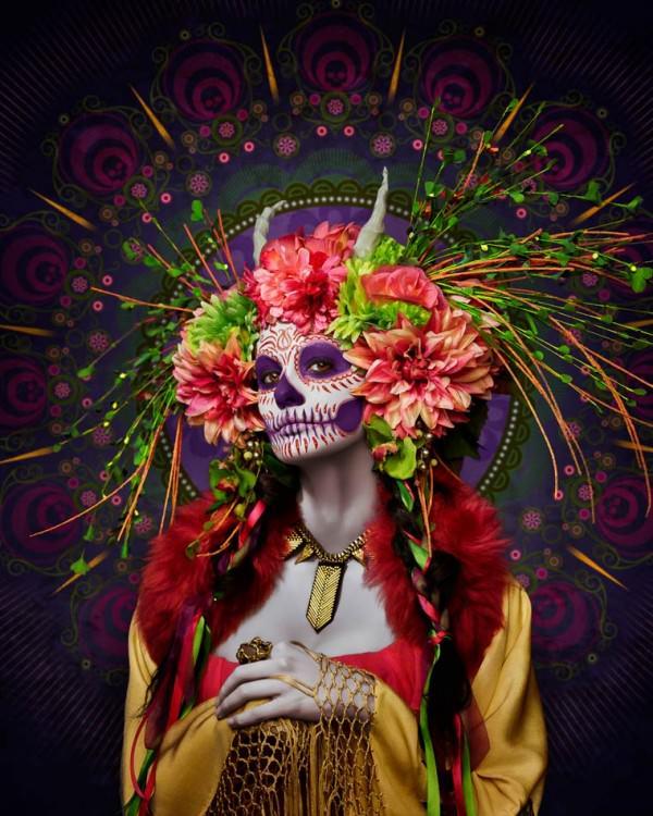 Las Muertas The Portraits of Tim Tadder Art + Graphics