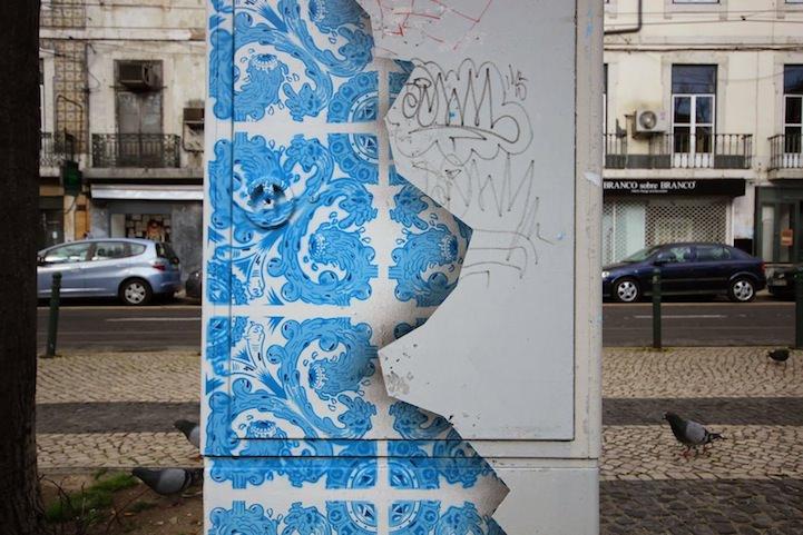 Customized Street Electric Box by Diogo Machado Art + Graphics