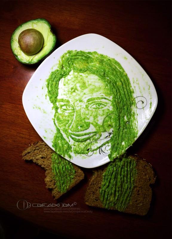 Avocado Drawings by Boris Toledo Doorm Art + Graphics Creative Fooding