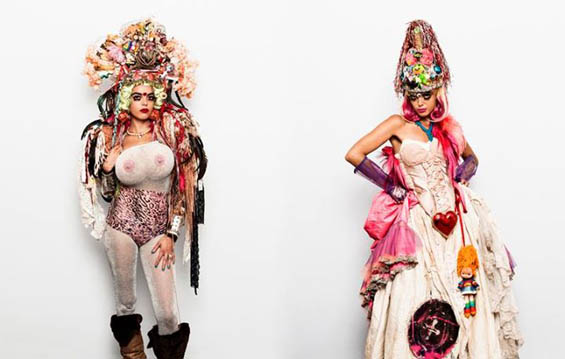 Discarded Trash Turned Into Kitschy Costumes And Masks by Rubbish Fairy Fashion + Trends Sustainability