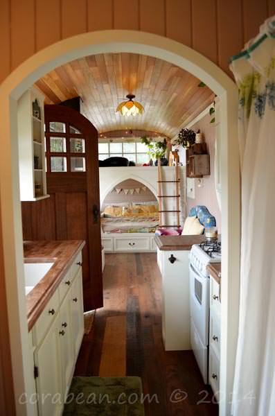 Couple Transforms A Big Yellow School Bus Into A Nice Tiny House Architecture + Interiors