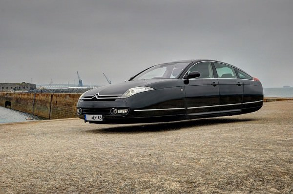 Flying Versions of Modern Cars By Sylvain Viau Art + Graphics