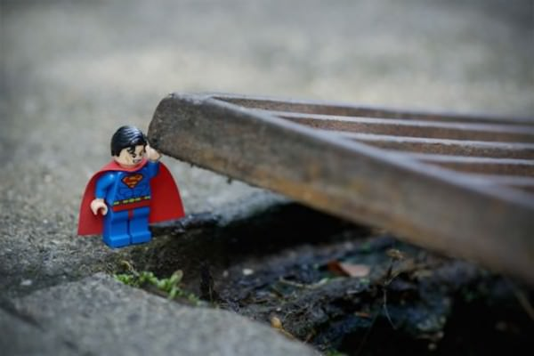 Adventures of Lego Figures in Real Life Photography