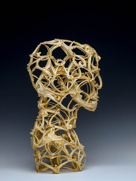 Sculptures Made Of Bones By john Paul Azzopardi Art + Graphics