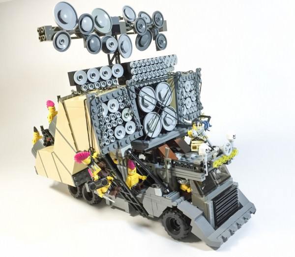Mad Max: Fury Road With Lego Funny