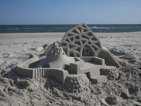 Impressive Sand Castles By Calvin Seibert Art + Graphics