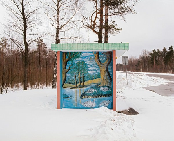 Belarus Bus Stops Photography Byalexandra Soldatova Photography