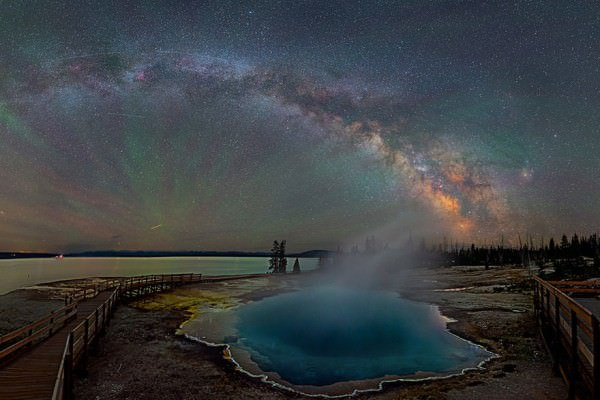 Breathtaking Photography of The Milky Way at Yellowstone by David Lane Photography