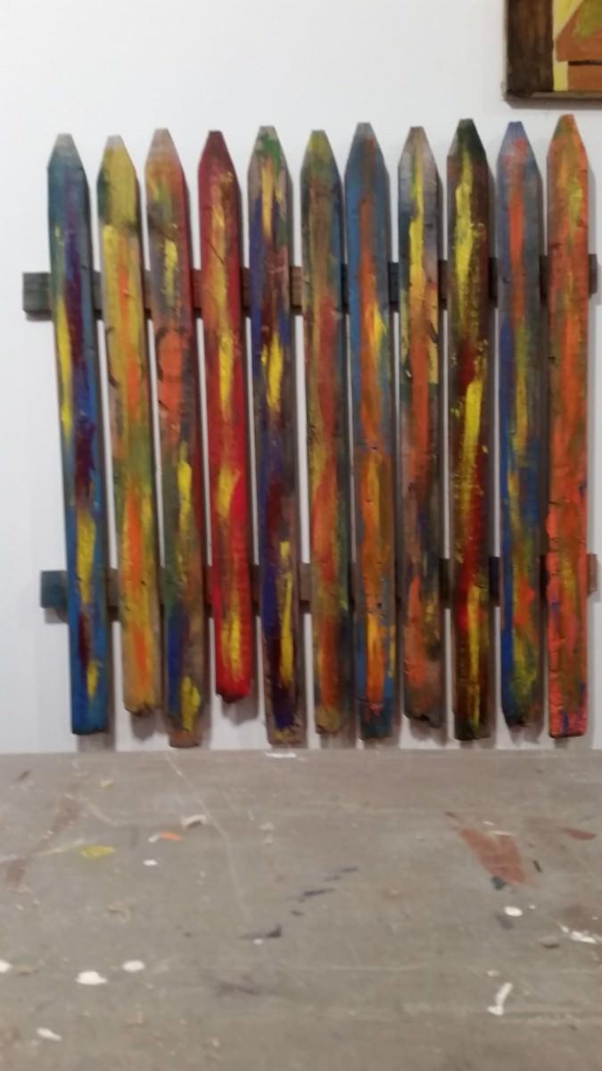 Salvaged Artworks Art + Graphics Sustainability