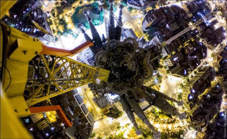 Beautiful Photography From The Rooftop Of The Sagrada Familia Photography