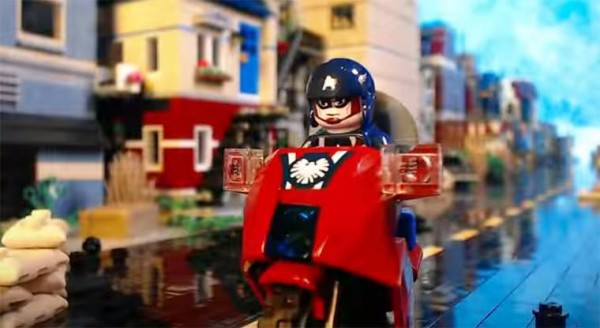 Lego Captain America Vs. Nazi Zombies Geek Universe