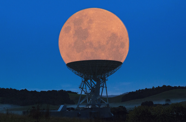 Perfectly Timed Supermoon Photograph Photography