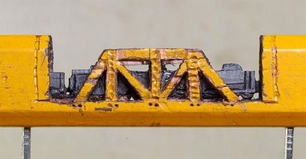 The Small Pencil Lead Train Art + Graphics